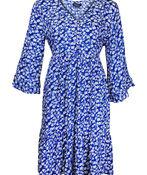 Boho 3/4 Ruffle Sleeve Dress, , original image number 1