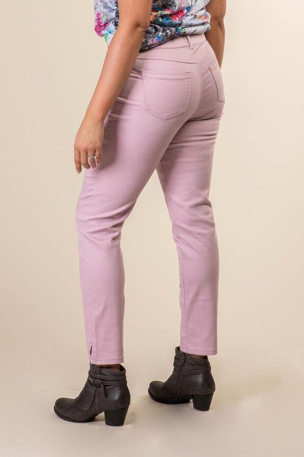 Colour Pop Denim Ankle Pant, Pink, original image number 1