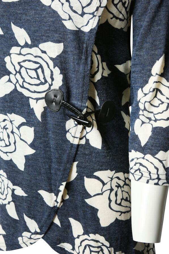 Lorelei Rose Adorned Tunic, Denim, original image number 2