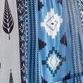 Sleeveless Boho Hi-Lo Maxi Dress, Blue, swatch