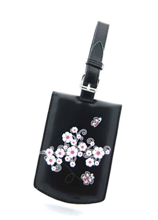 Cherry Blossom Luggage Tag, , original