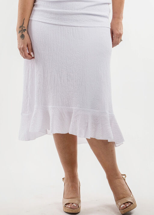 Ruffle Hi-Lo Skirt, , original