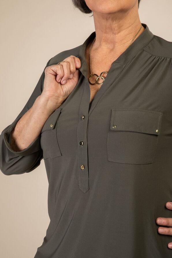 Catia Blouse, Green, original image number 1