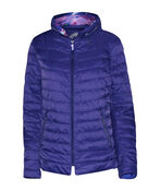 In the City Reversible Jacket with Hidden Hood, Purple, original image number 1