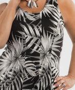 Moonlit Palms Dress, Black, original image number 2