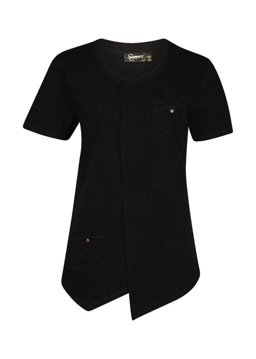 Asymmetrical Cross-Over T-Shirt, , original