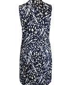 Animal Print Golf Dress with Pockets, Natural, original image number 1