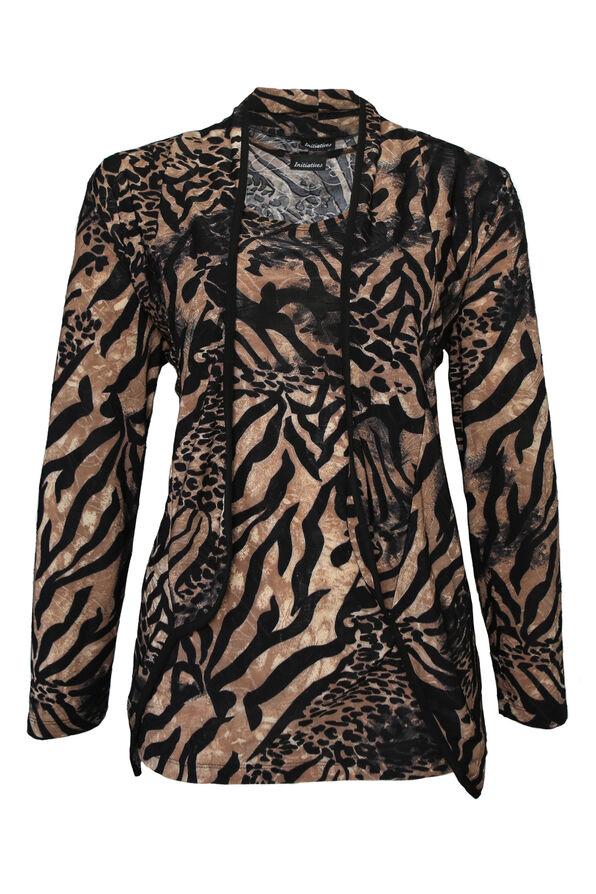 Leopard Twin Set, Brown, original image number 0
