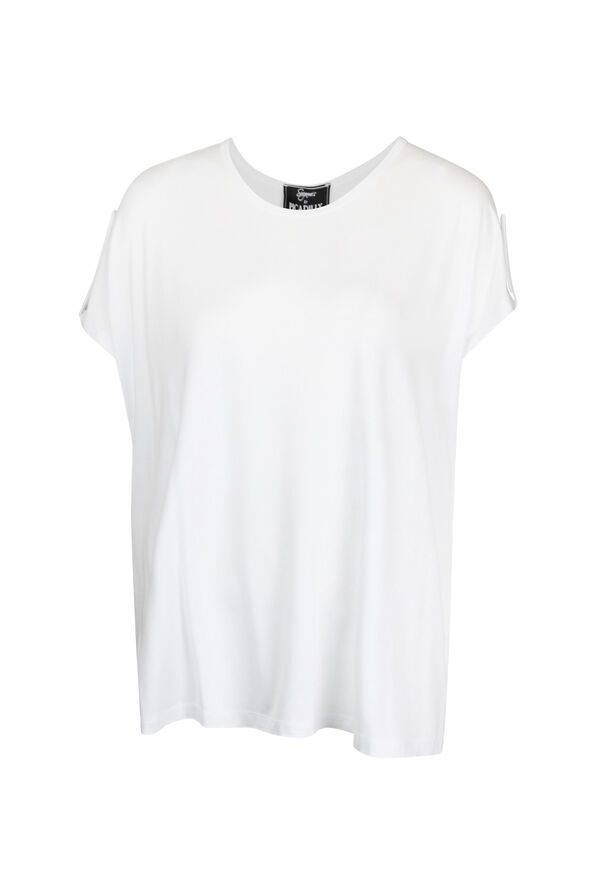 Cap Sleeve with Tab T-Shirt, , original image number 1
