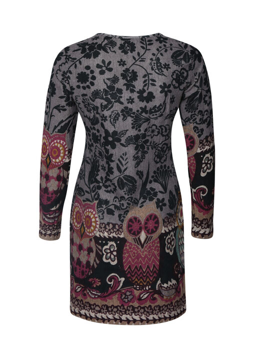 Owl Print Tunic, Lavender, original