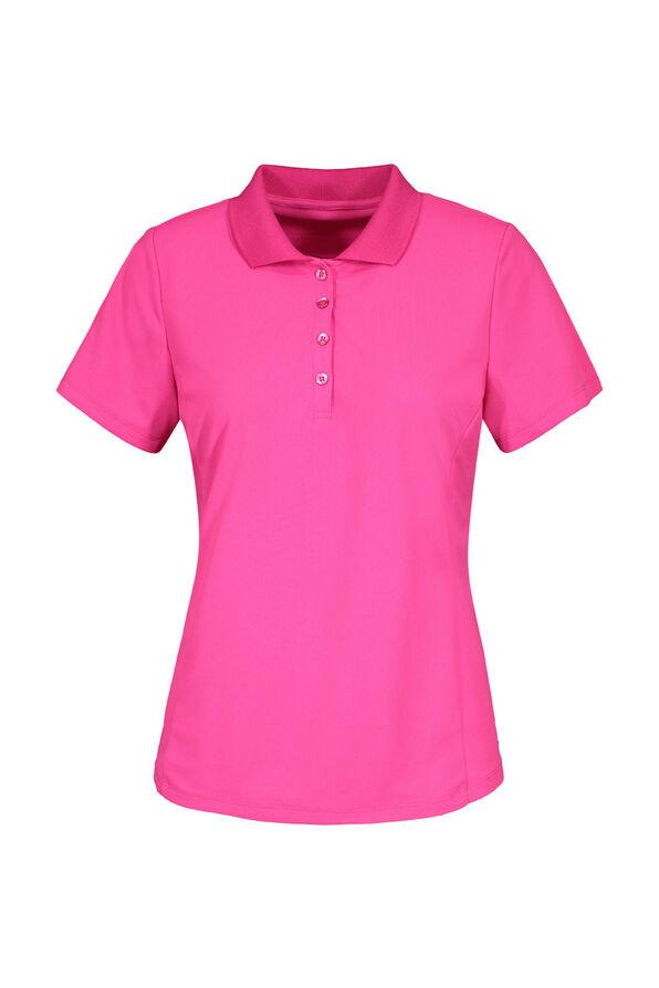 Golf Performance Short Sleeve Top, Pink, original image number 1