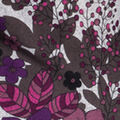 Print Knit Tunic, Purple, swatch