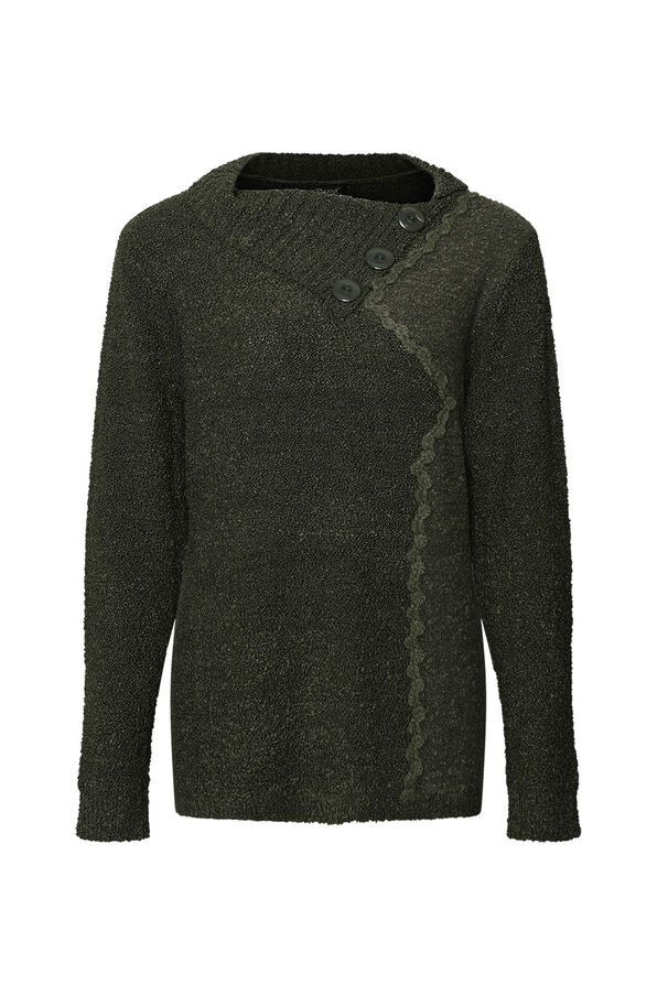 Boucle Knit Sweater, , original image number 1