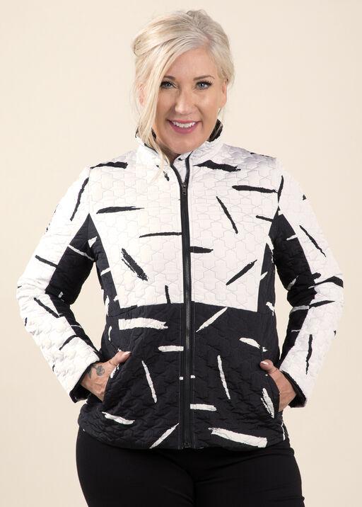 Quilted Zip Jacket, , original
