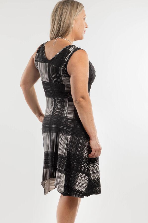 Patricia Sleeveless Dress, Black, original image number 1