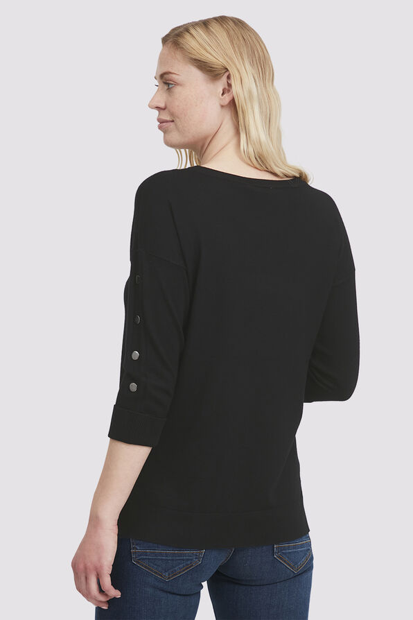 Jane's Basic Top, Black, original image number 3
