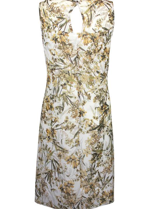 Sleeveless Chiffon Swing Dress , Green, original