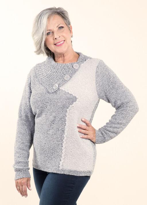 Boucle Knit Sweater, , original