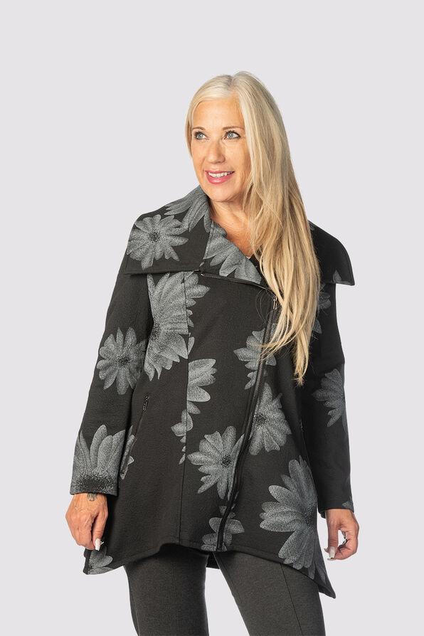 The Flora Jacket , Black, original image number 2
