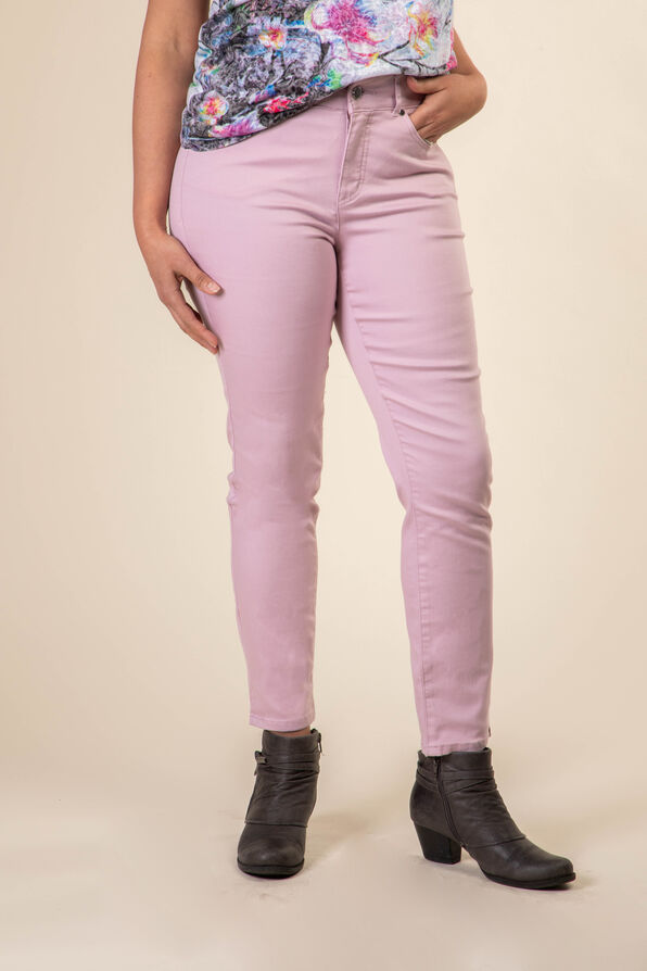 Colour Pop Denim Ankle Pant, , original image number 1