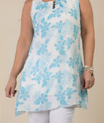 Hannah Tunic , Turquoise, original image number 2