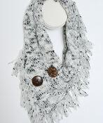 Handkerchief Infinity Scarf, , original image number 0