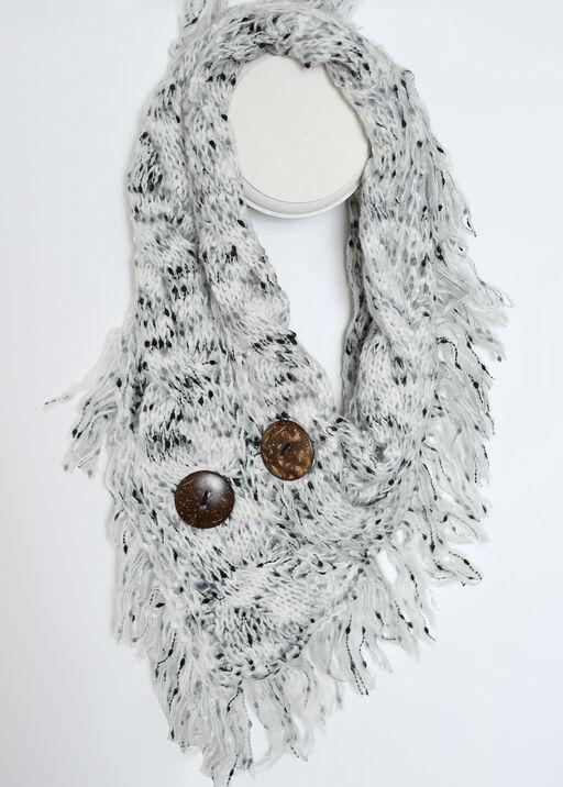 Handkerchief Infinity Scarf, , original