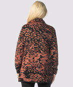 Spotted Sea Sweater, Rust, original image number 1