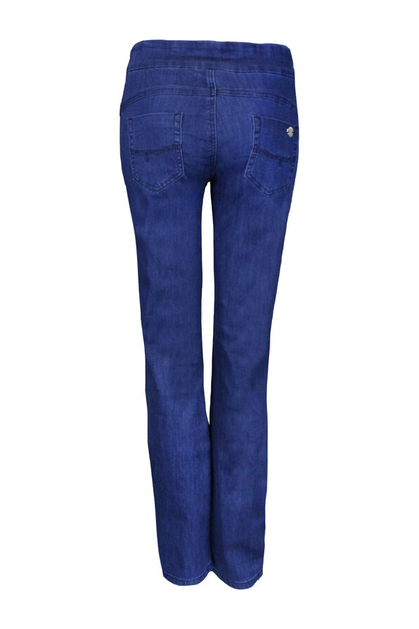 Simon Change Pull On Jean, Blue, original image number 1