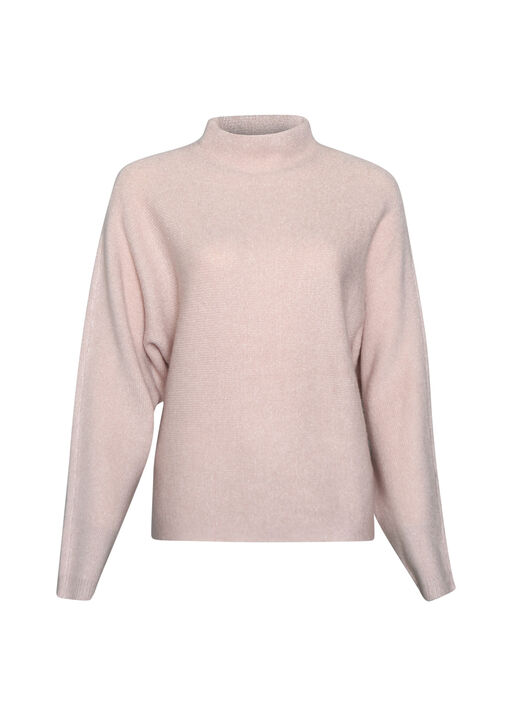 Chic Mock Neck Sweater, , original
