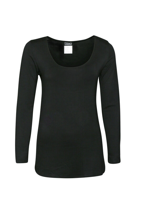 All About the Scoop Top, Black, original image number 0