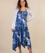 Beach Comber Sun Dress, Navy, original image number 1