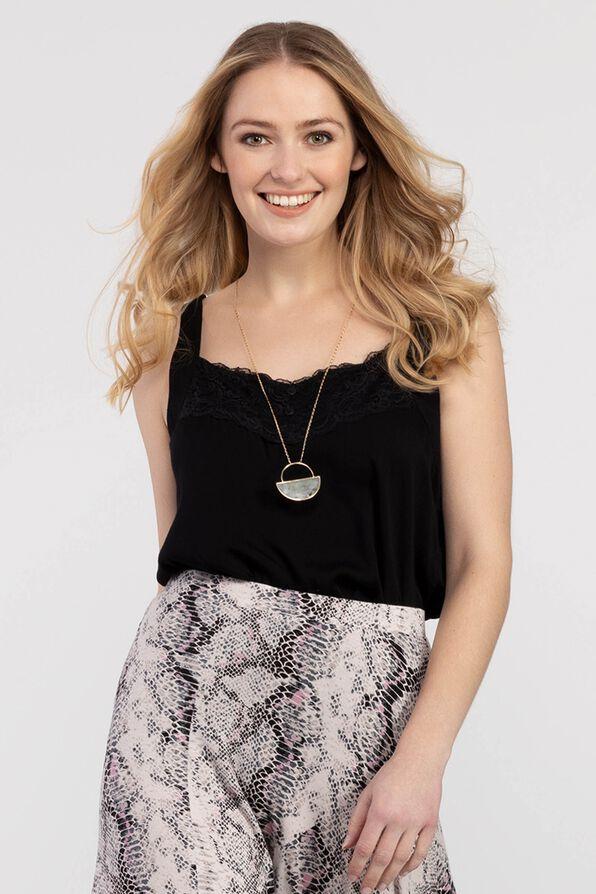 Kellie Swing Tank Top, Black, original image number 0