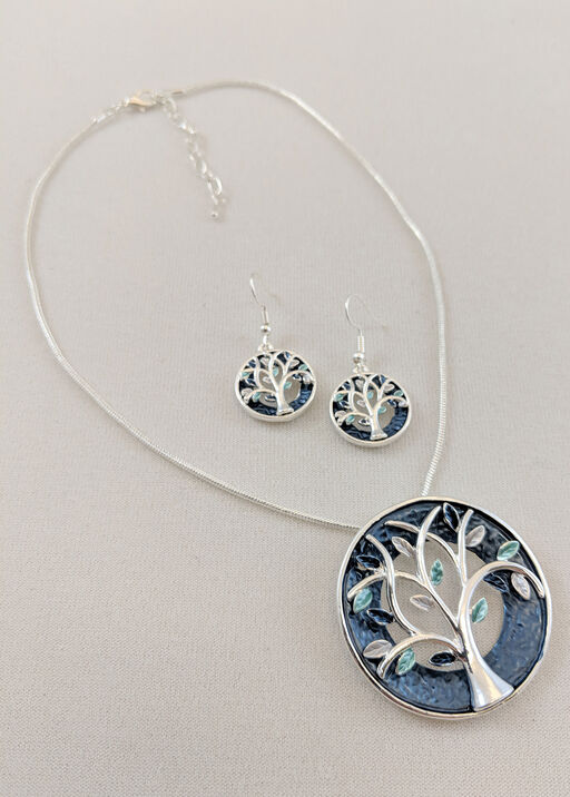 Blue Skies Necklace and Earring Set, , original