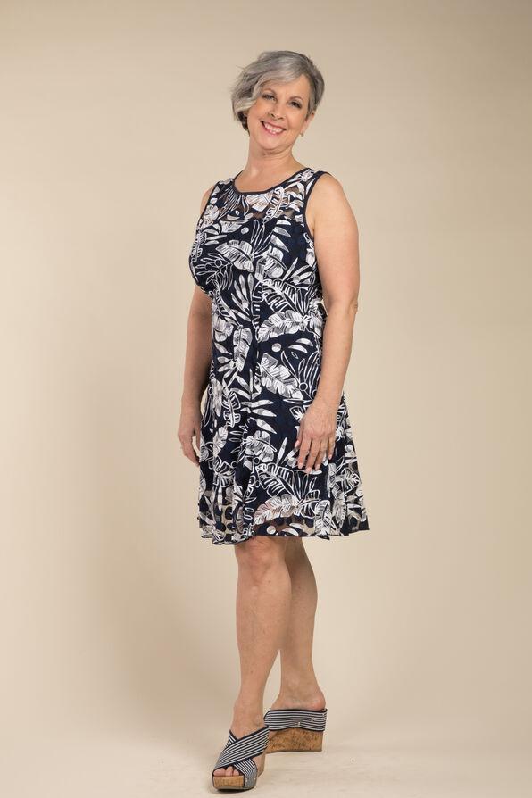 Farrah Dress, Navy, original image number 0