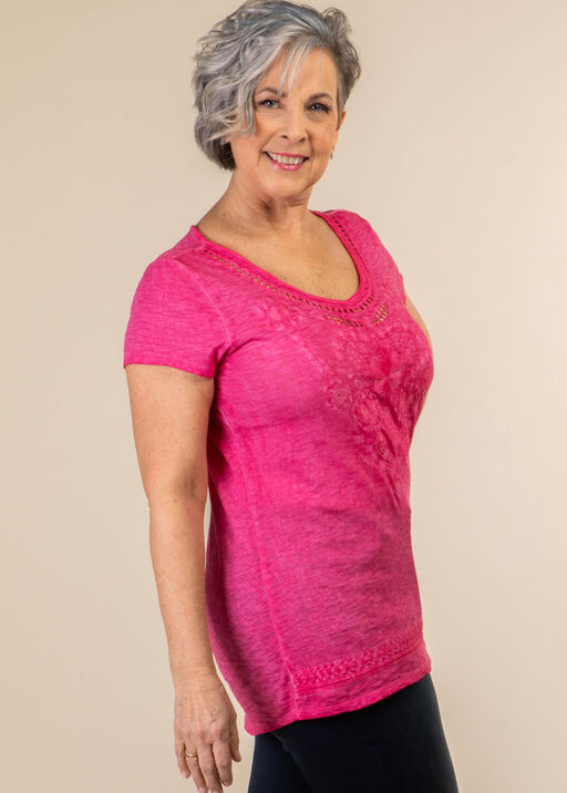 Embroidered Style Top, , original