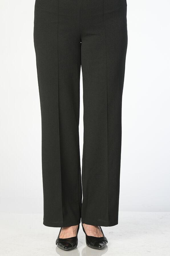 Perfect Pintuck Pants, Black, original image number 0