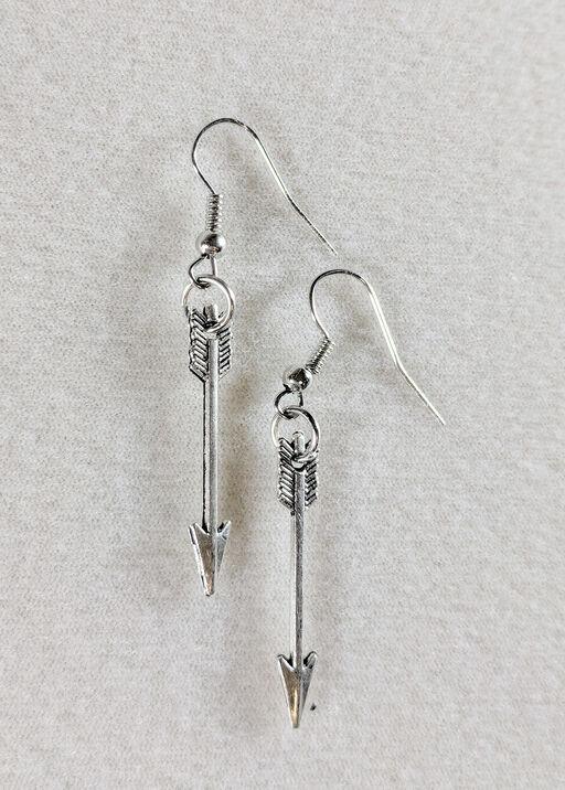 Arrow Handmade Earrings, , original