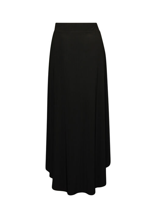 Hi-Lo Maxi Skirt, Black, original