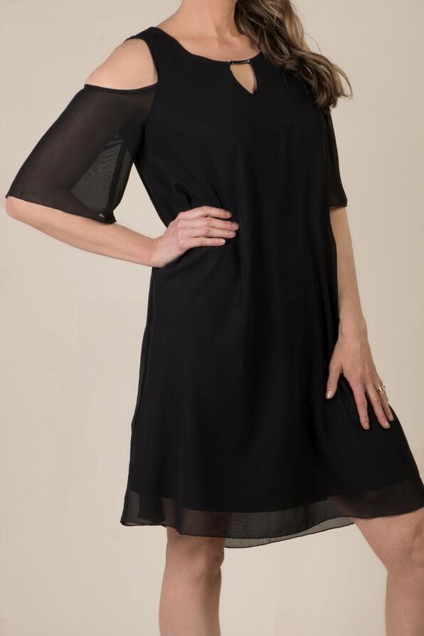 Cold Shoulder Dress, , original image number 0