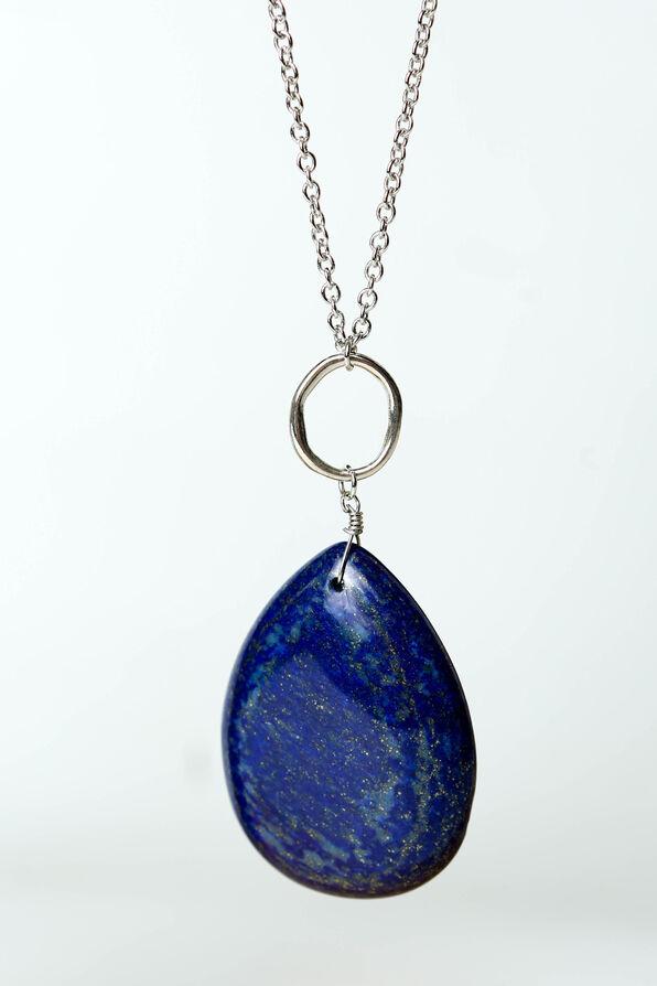 Lapis Necklace, Blue, original image number 1